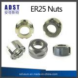 Tuerca de la serie Er25 para la tirada de cerco para la máquina del CNC