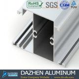 Profil en aluminium en aluminium pour la porte personnalisée de guichet du Nigéria