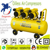 compresseur d'air portatif de piston de vis de 90L 3X600W Oilless