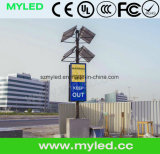 Zonnepaneel Power Saving Trailer LED Display 35W/Sqm