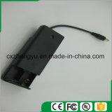 sostenedor de batería 2AA con los terminales de componente, la cubierta y el interruptor de alambre del enchufe de la C.C.