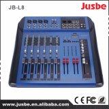 Jb-L8 8-kanaal met USB/48V de Spook AudioMixer van de Levering van de Macht