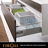 Европейский шкаф тщеты Bathoom конструкции с верхними частями Tivo-0021vh