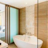 Bañera superficial sólida libre de Kkr Corian para el hotel
