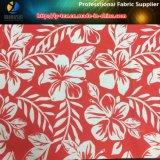 셔츠 또는 Beachwear (YH2130)를 위한 폴리에스테 Microfiber 직물에 인쇄되는 열대 꽃