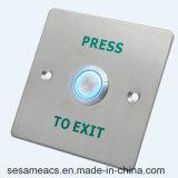 Acier inoxydable aucun bouton de porte de COM d'OR (SB3M)