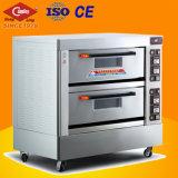 Forno elétrico do cozimento de duas plataformas/forno forno do brinde/pão da padaria