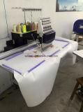 Máquina de bordado de tecido simples misturada computadorizada com cabeça única