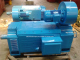 Motor de la C.C. y pequeña máquina de enrollamiento del motor de inducción