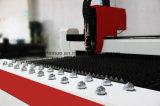 Abrir-Tipo de alta velocidade cortador do CNC 500W do laser da fibra para o metal