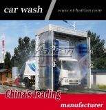 Máquina da lavagem do caminhão do derrubamento de 3 escovas de Italy com controle da tela de toque