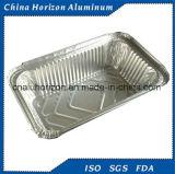 Примите портативный контейнер алюминиевой фольги
