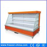 Refrigerador de exibição de frutas e vegetais de tipo remoto comercial