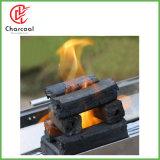 Carvão vegetal quadrado de bambu natural do insurrecto de Hong Qiang para o BBQ