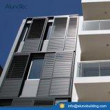 Externer schiebender Aluminiumblendenverschluss-schiebender Innenblendenverschluß für Windows
