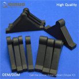 Preço de fábrica protetor de canto plástico desobstruído e preto de 50mm de Qinuo