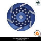 "6 "" 150mm Turbo Segment Diamond Grinding Cup Wheel for Stone"