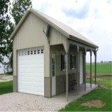 Garagem pré-fabricada da construção de aço para a venda