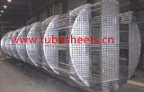 CNC Ce/PED/En10204-3.1 подвергая выполненную на заказ водораспределительную стенку механической обработке теплообменного аппарата