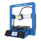 Mini 3D impresora - 5.9 '' X 5.9 '' volumen de la estructura de X 5.9 '' (incluye el filamento no tóxico del PLA, el recinto de la impresora, la cinta de la base de la impresión, los cables y el anuncio de la potencia