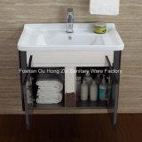 ホームのための黒いステンレス鋼の浴室の虚栄心のキャビネット
