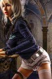 Куклы секса реальной жизни кукол 158cm взрослый секса силикона куклы влюбленности силикона новизны полного реального взрослый