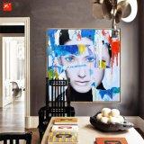 ホーム装飾のためのAudrey HepburnのハンドメイドオイルPainitng