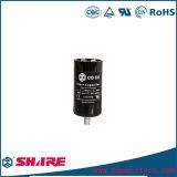 Condensadores CD60 para motores elétricos monofásicos, capacitores eletrolíticos