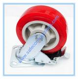 Roue durable sûre d'échafaudage avec le frein