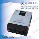 3kVA construit dans l'inverseur hybride d'énergie solaire de contrôleur de charge de MPPT