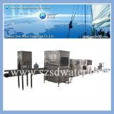 Funcionamiento confiable 600bph máquinas de rellenar del agua embotellada de 5 galones