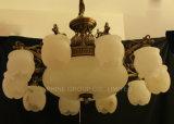 Qualitäts-Leuchter mit spanische Marmorvorrichtungs-hängender Lampe