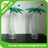 Vente en gros en plastique faite sur commande de bouteille d'eau potable de modèle animal