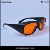 Alta densidad óptica para las gafas de seguridad verdes de laser 532nm (GHP 200-540nm) con el marco 33