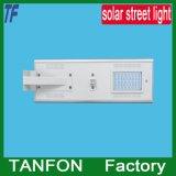 luces de calle accionadas solares endurecidas 40W de la pantalla de cristal para la garantía de calidad