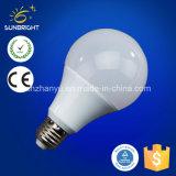 bulbo de alumínio plástico do diodo emissor de luz de 3-15W A60 A70