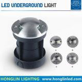 Luzes Recessed 9W laterais da entrada de automóveis da lâmpada do diodo emissor de luz Inground