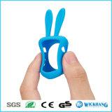 Karikatur-Kaninchen-Ohr-weiches Silikon-schützender Kasten für Apple-Uhr 1/2
