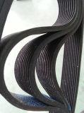 Cinghia di sincronizzazione di gomma costolata nera per il trasporto di energia