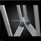 Трап верхнего безопасного напольного выдвижения 2 разделов универсального алюминиевый для строительного материала