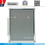 Großer quadratischer Vorschlags-Aluminiumkasten für Büro-und Bank-Gebrauch