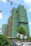 건축 탑 사슬 기중기