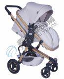 Одобренная En1888 прогулочная коляска младенца высокия стандарта с роскошной конструкцией
