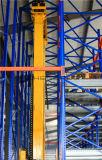 Automatisches Lager-Speicher-System mit Doppelventilkegel und Kran