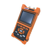 Shinho X-6002 OTDR tenu dans la main Exfo OTDR