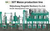 50ton por la máquina de pulido del molino del maíz 24h con buen precio