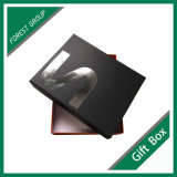 Venta caliente sellado de plata de cartón caja de regalo