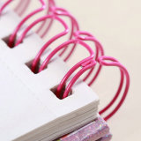 Wirebindの供給および文房具のための対のループ結合ワイヤーO