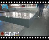 Painel acrílico personalizado da folha do espaço livre do tamanho feito em China com alta qualidade