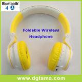 Auscultadores estereofónico sem fio Foldable de venda quente de Bluetooth do esporte com microfone